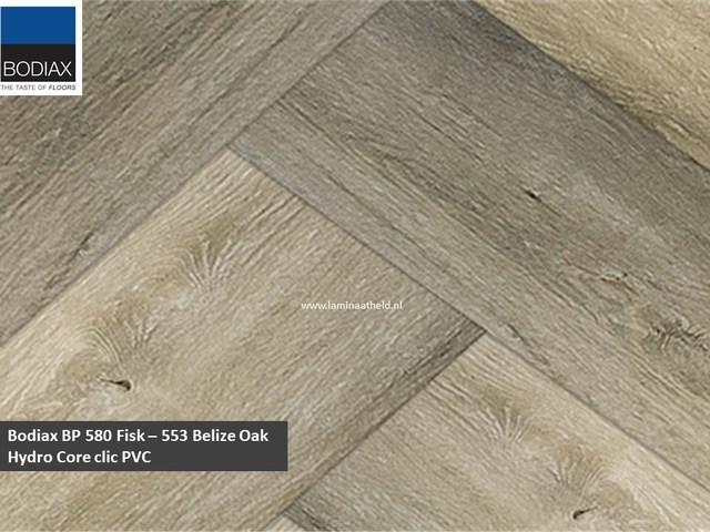 Bodiax BP580 Fisk Hydro-core - 553 Belize Oak (visgraat)