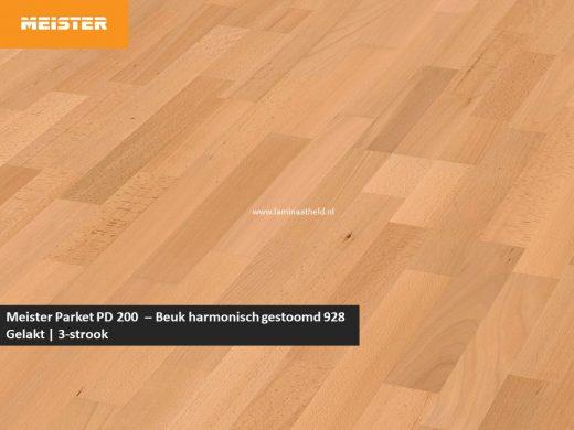 Meister PC 200 - Beuk harmonisch gestoomd 928