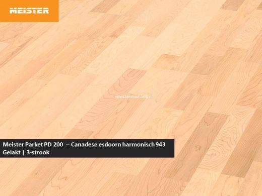 Meister PC 200 - Canadese esdoorn harmonisch 943