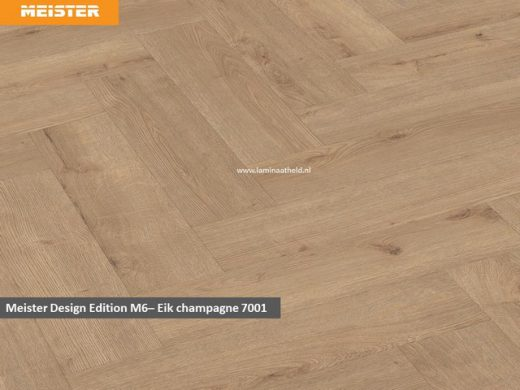 Meister Edition M6 - Eik Champagne 7001