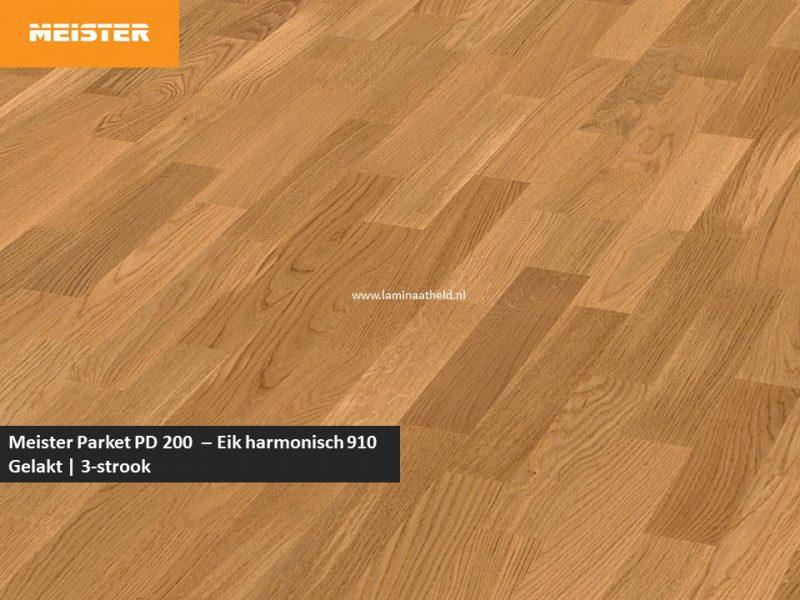 Meister PC 200 - Eik harmonisch 910