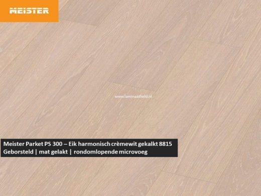 Meister PS 300 - Eik harmonisch crèmewit gekalkt 8815