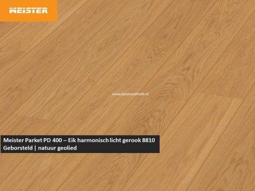 Meister PD 400 - Eik harmonisch licht gerookt 8810