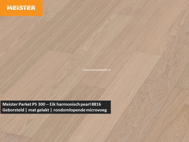Meister PS 300 - Eik harmonisch pearl 8816