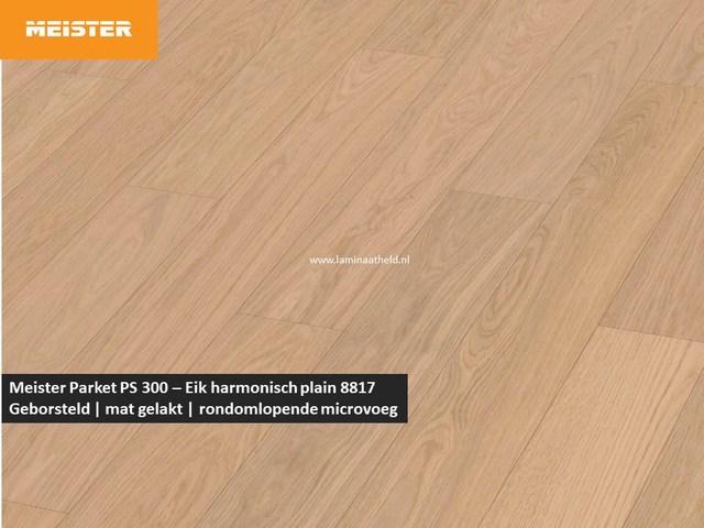 Meister PS 300 - Eik harmonisch plain 8817