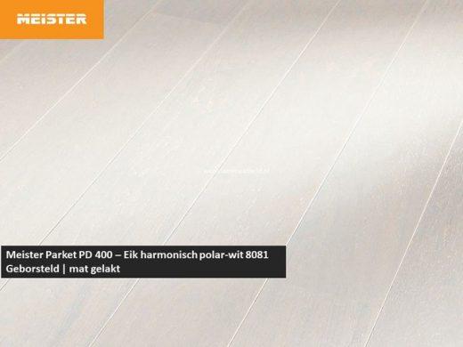 Meister PD 400 - Eik harmonisch polar-wit 8081