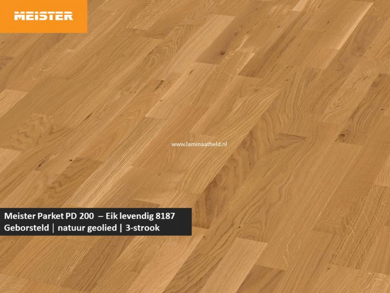 Meister PC 200 - Eik levendig 8187
