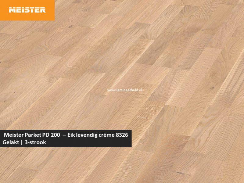 Meister PC 200 - Eik levendig crème 8326