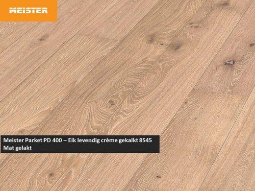 Meister PD 400 - Eik levendig crème gekalkt 8545