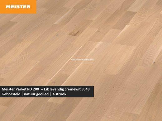 Meister PC 200 - Eik levendig crèmewit 8349
