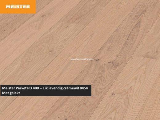 Meister PD 400 - Eik levendig crèmewit 8454