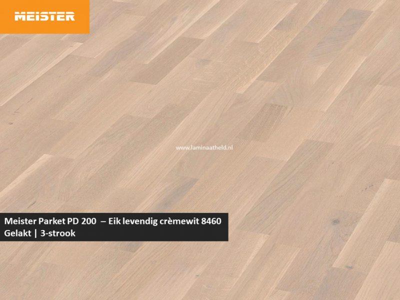 Meister PC 200 - Eik levendig crèmewit 8460
