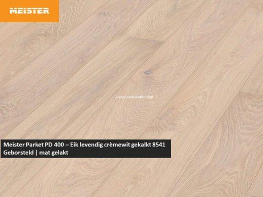 Meister PD 400 - Eik levendig crèmewit gekalkt 8541