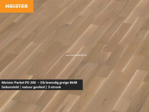 Meister PC 200 - Eik levendig greige 8648