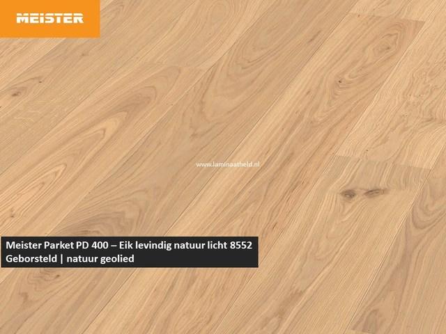 Meister PD 400 - Eik levendig natuur licht 8552