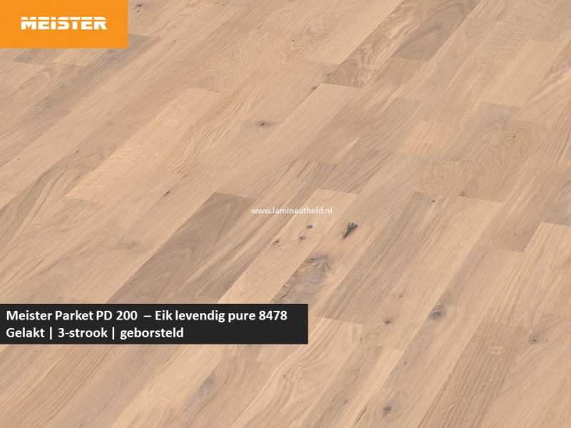 Meister PC 200 - Eik levendig pure 8478