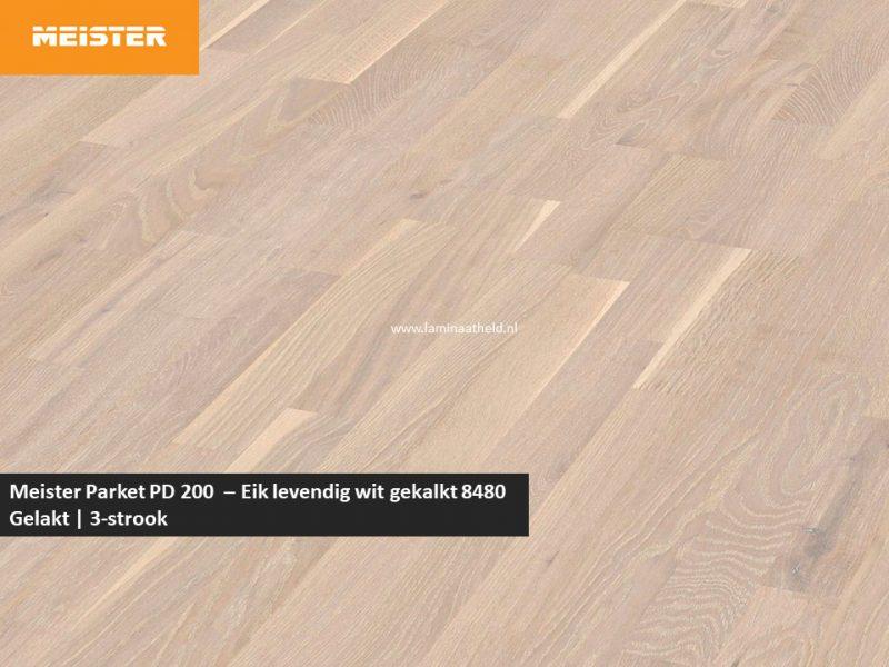 Meister PC 200 - Eik levendig wit gekalkt 8480