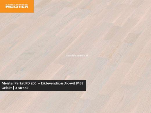 Meister PC 200 - Eik levendig arctic-wit 8458