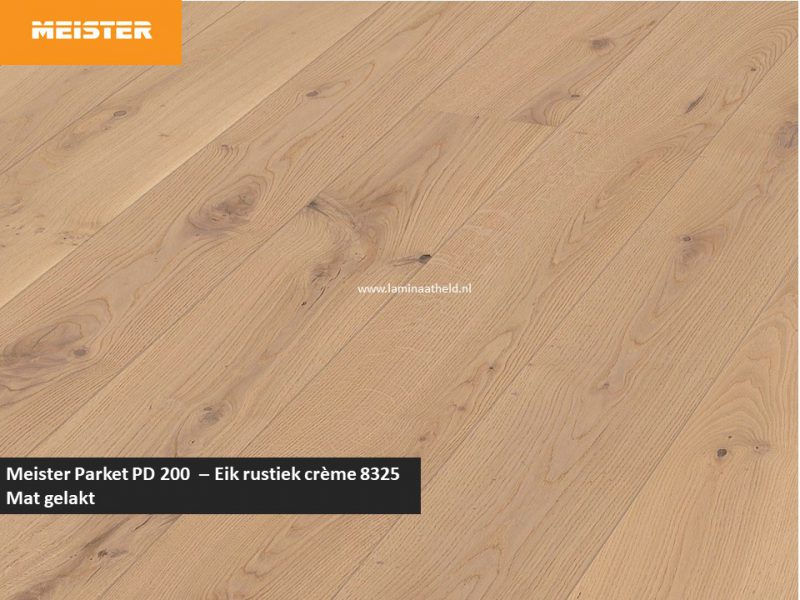 Meister PD 200 - Eik rustiek crème 8325