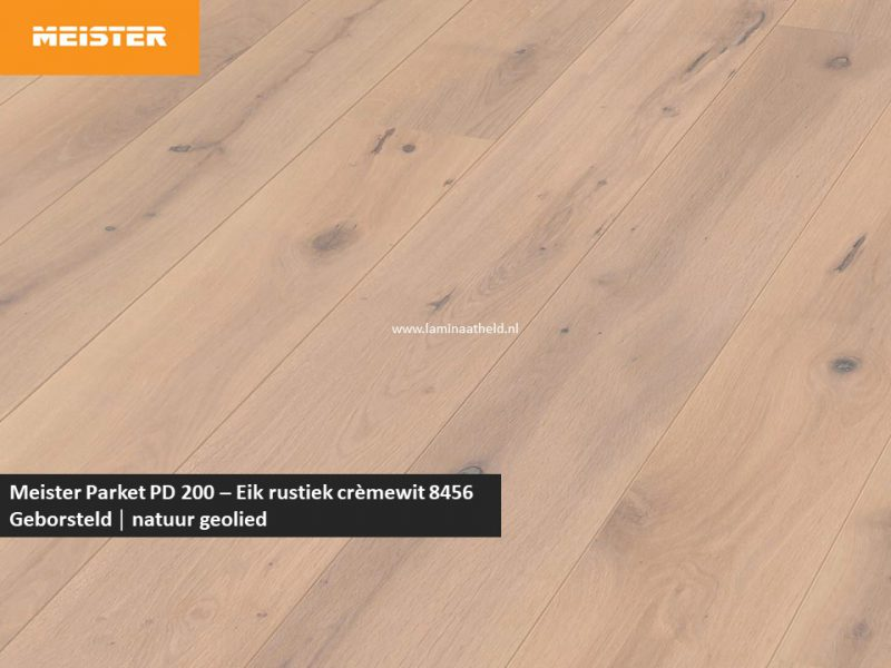 Meister PD 200 - Eik rustiek crèmewit 8456