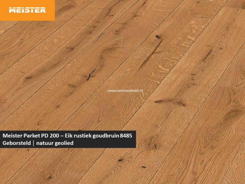 Meister PD 200 - Eik rustiek goudbruin 8485