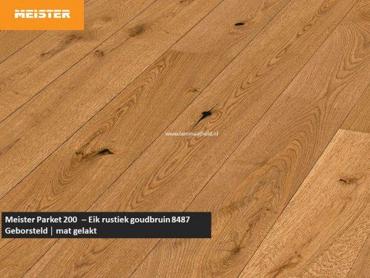 Meister PD 200 - Eik rustiek goudbruin 8487