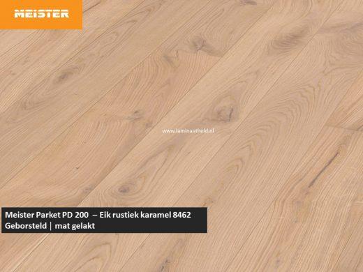 Meister PD 200 - Eik rustiek karamel 8462