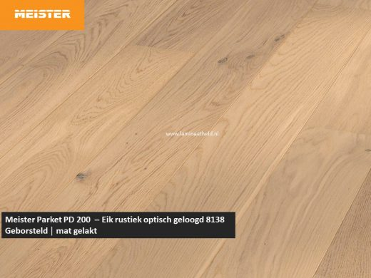 Meister PD 200 - Eik rustiek optisch geloogd 8138