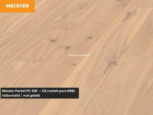 Meister PD 200 - Eik rustiek pure 8486