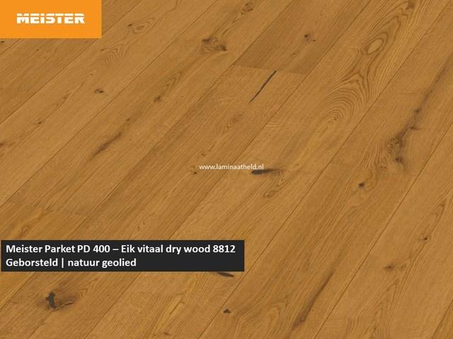 Meister PD 400 - Eik vitaal dry wood 8812