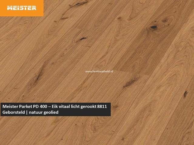Meister PD 400 - Eik vitaal licht gerookt 8811