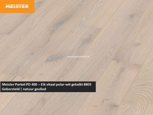 Meister PD 400 - Eik vitaal polar-wit gekalkt 8803