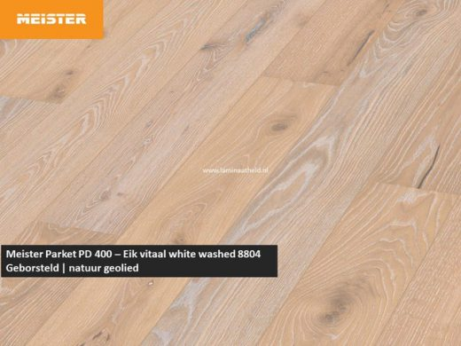 Meister PD 400 - Eik vitaal white washed 8804