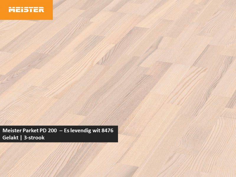 Meister PC 200 - Es levendig wit 8476