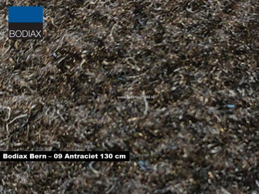 Bodiax Bern schoonloopmat - 09 Antraciet 130 cm