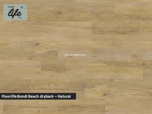 Floorlife Bondi Beach Collection dryback pvc - Natural Oak