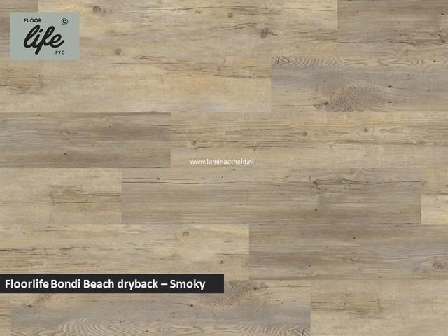 Floorlife Bondi Beach Collection dryback pvc - Smoky