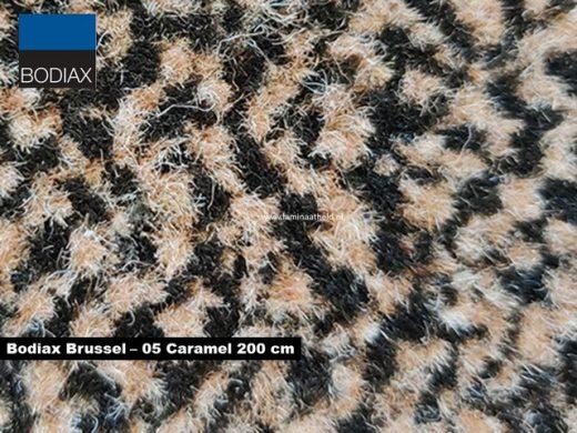 Bodiax Brussel schoonloopmat - 05 Caramel 200 cm