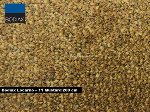 Bodiax Locarno schoonloopmat - 11 Mustard 200 cm