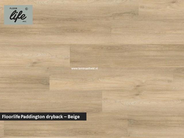 Floorlife Paddington Collection dryback pvc - Beige