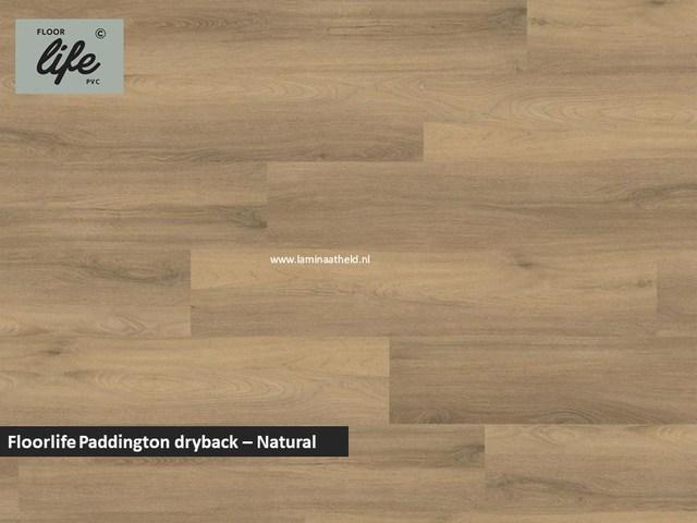 Floorlife Paddington Collection dryback pvc - Natural