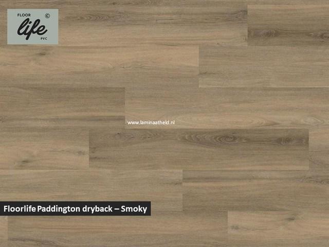 Floorlife Paddington Collection dryback pvc - Smokey