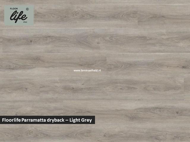 Floorlife Parramatta Collection dryback pvc - Light Grey
