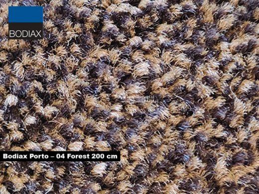 Bodiax Porto schoonloopmat - 04 Forest 200 cm