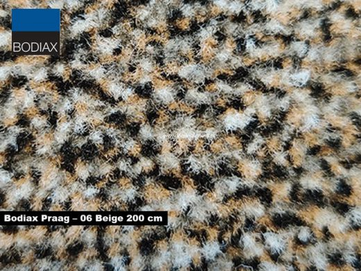 Bodiax Praag schoonloopmat - 06 Beige 200 cm