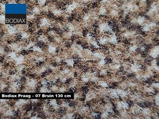 Bodiax Praag schoonloopmat - 07 Bruin 130 cm
