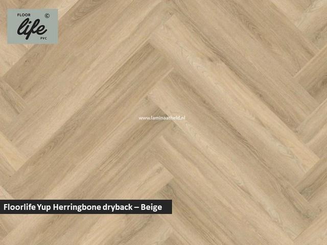 Floorlife Yup dryback pvc - Beige