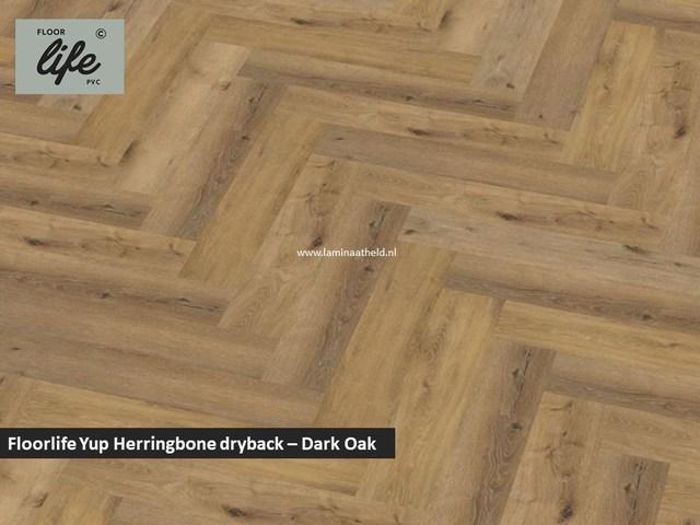 Floorlife Yup dryback pvc - Dark Oak
