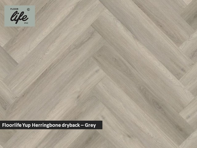 Floorlife Yup dryback pvc - Grey