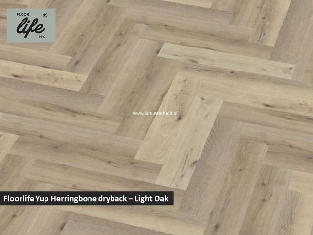 Floorlife Yup dryback pvc - Light Oak